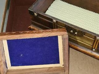 3 Storage Boxes  1 Shaped like Treasure Chest