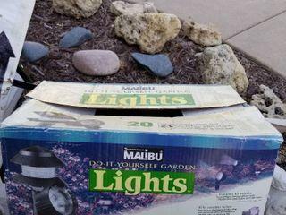 Malibu garden lights