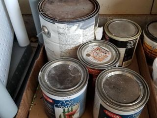Assorted paint