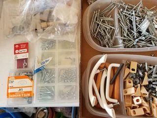 Assorted screws