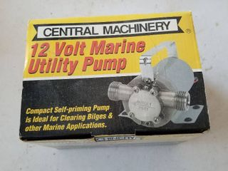 Central Machinery 12 volt utility pump  new in box