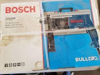 Bosch 3 4  Rotary hammer  new in box