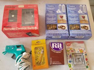 Wireless remote control switch and assorted items