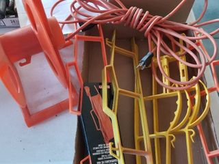 Extension cord and cord storage