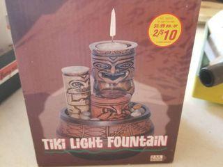 Tiki light Fountain unopened