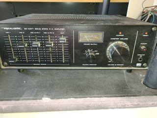 REAlISTIC Amplifier
