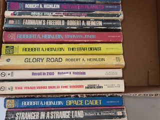 Books by ROBERT A  HEINlEIN