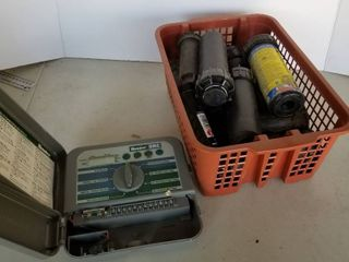 Sprinkler heads and control box