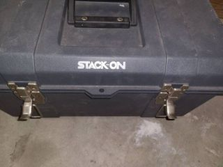 STACK ON Tool Box and its Contents