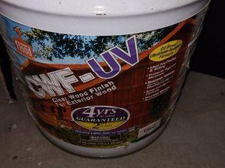 CWF   UV  Clear Wood Finish  5 Gallons