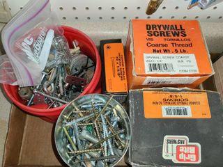 A lot of Various Screws
