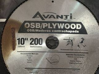 AVANTI  OSB PlYWOOD 10  SAW BlADE