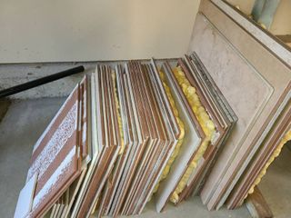 Assorted Pieces of Tile