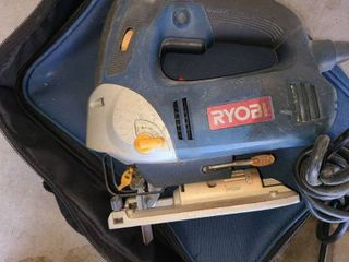 RYOBI SAW with lazer