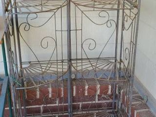 2 Corner Shelves Approximately 5ft tall x 24 wide