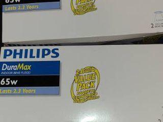 Philips Flood lights 65w 2 per box
