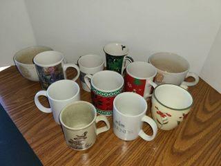 11 Pcs  Coffee Mugs