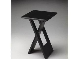 Handmade Hammond Black Folding Table