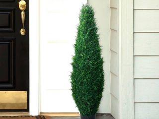 Romano 41 inch Indoor  Outdoor UV Resistant Cypress Tree