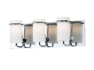 Maxim Polished 3 light Bathroom Vanity light   Polished Chrome