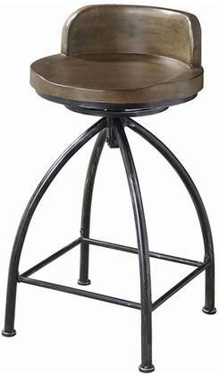 Counter Height Stool   Cognac and Black