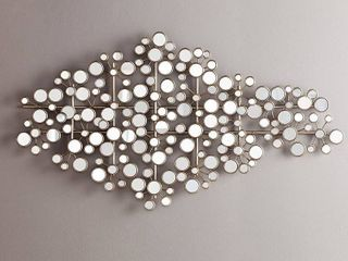 Southern Enterprises WS9741 Mirrored Wall Sculpture