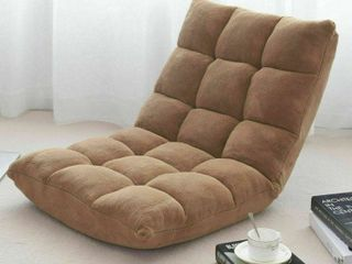 Adjustable 14 position Cushioned Floor Chair