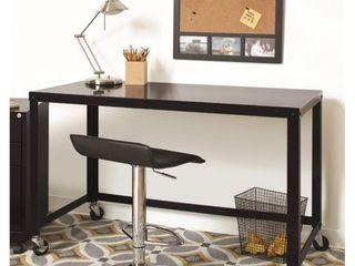 Office Dimensions Mobile Metal Desk Black
