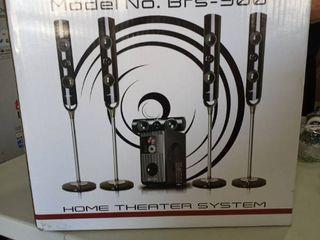 Befree Sound 5 1 Channel Surround Sound Bluetooth Speaker System Bfs 900 3003