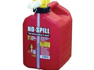 No Spill 1405 2 1 2 Gallon Poly Gas Can  CARB Compliant