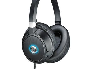 Audio Technica QuietPoint Active Noise cancelling Headphones   Black  ATH ANC70