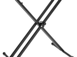 Yamaha   PKBX2 Adjustable Double Braced X Style Keyboard Stand   Black