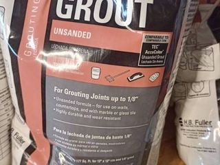 Tec Unsanded Grout Bright White10 lb bag