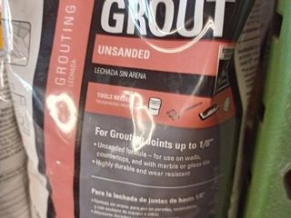 Tec Unsanded Grout Ivory 10 lb bag