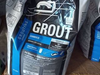 Tec Sanded Grout Delorean Gray 10 lb bag