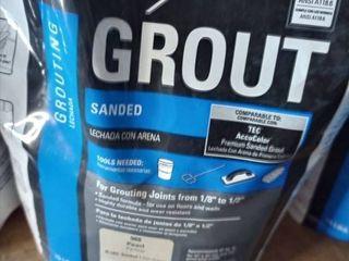Tec Sanded Grout Pearl 10 lb bag