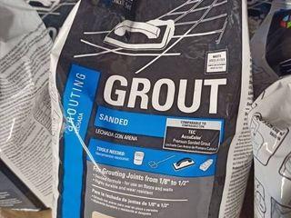 Tec Sanded Grout Ivory 10 lb bag