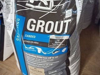 Tec Sanded Grout Sandstone Beige 10 lb bag