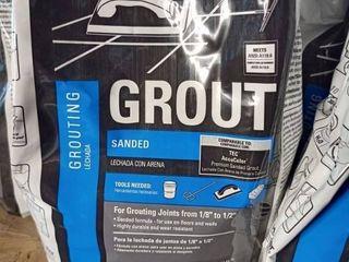 Tec Sanded Grout Espresso10 lb bag