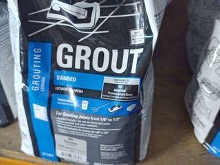 Tec Sanded Grout Silverado 10 lb bag