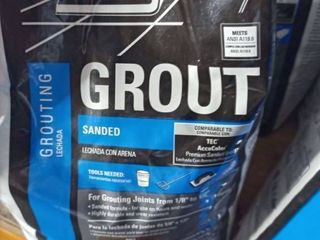 Tec Sanded Grout Summer Wheat10 lb bag