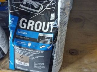 Tec Sanded Grout Mocha 10 lb bag