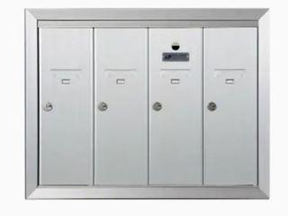 Florence Corporation 4 Box Mailbox with Keys