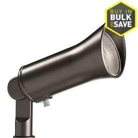 Kichler 3 Watt  25 W Equivalent  Olde Bronze low Voltage Plug in lED Spot light