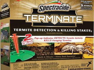 Spectracide Terminate Termite Replacement Killing Stakes