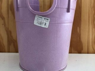 lavender 1gal Reclaimed Water Collector w  Removable Bottom