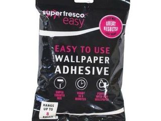 Graham Brown Aura Grey Wallpaper   Super Fresco Easy Wallpaper Adhesive Mix