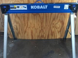 Kobalt 43  Fixed leg Sawhorse 1100 lb Capacity  Fully Assembled Fold Out 2x4 Work Table Supports Model  81329