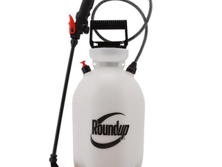 Roundup 2 Gallon Plastic Tank Sprayer   New