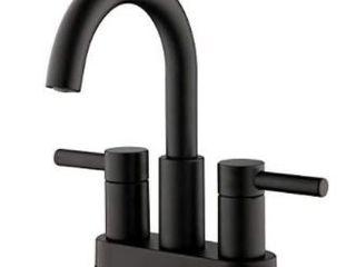 Jacuzzi Duncan 2 handle 4 in Centerset Watersense Bathroom Sink Faucet W drain